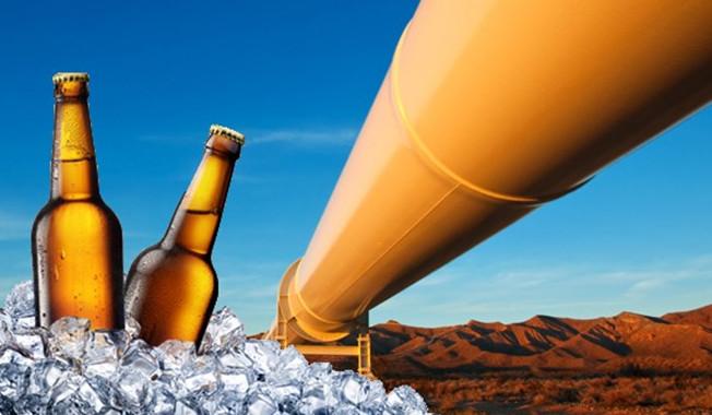 Настоящий пивопровод