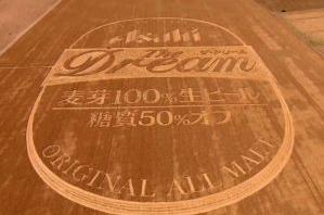 Креативная реклама от Asahi