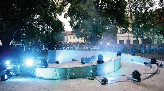 Необычный пивной фонтан