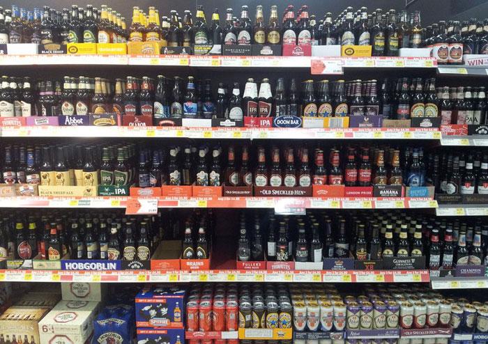 В России вырос импорт пива