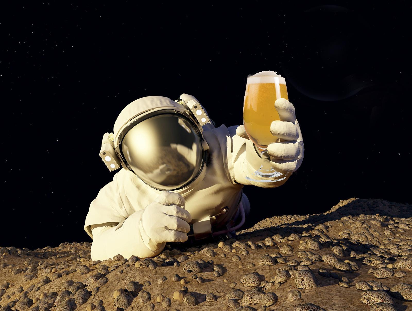 Пиво на Луне