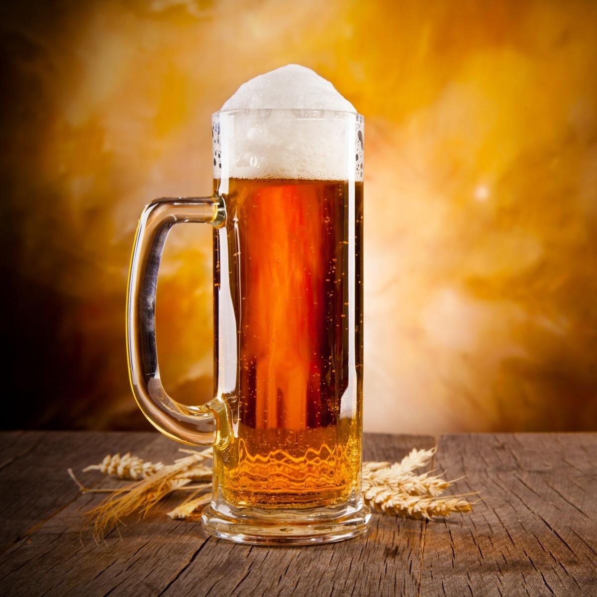 Польза в бокале пива