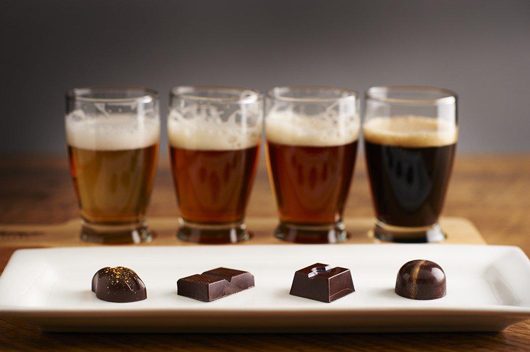 Пиво с шоколадом – самые яркие сочетания!