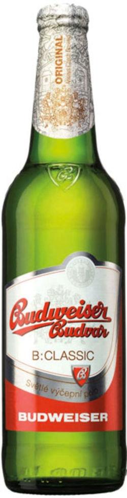 Budweiser Budvar CLASSIC / Svetlé Výčepní Pivo