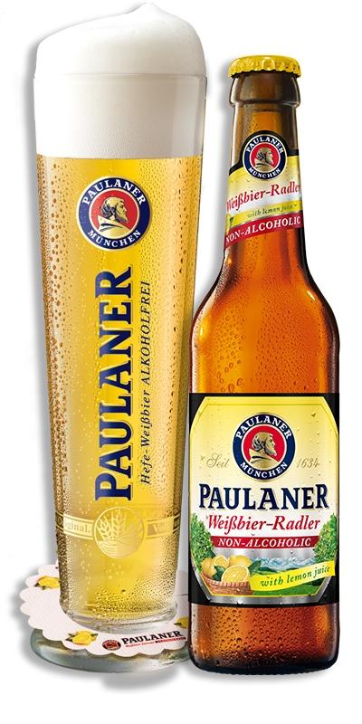 Paulaner Weißbier-Radler Non-Alcoholic