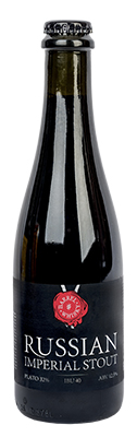 Konix Russian Imperial Stout (barrel #Whisky)