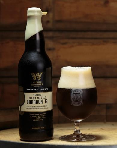 Widmer Brothers Vanilla Barrel Aged Brrrbon