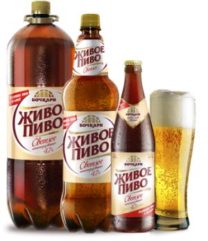 Живое пиво светлое н/п (Бочкари)