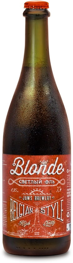 Jaws Blonde Belgian Style