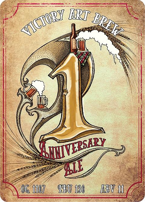 Victory Art Brew Anniversary Ale