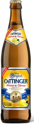 OeTTINGER Weizen & Zitrone Alkoholfrei