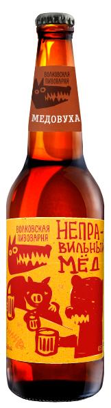 Волковская Пивоварня Неправильный Мёд