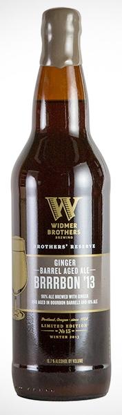 Widmer Brothers Ginger Barrel Aged Brrrbon
