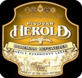 Svetly pšeničný nefiltrovany ležák Herold
